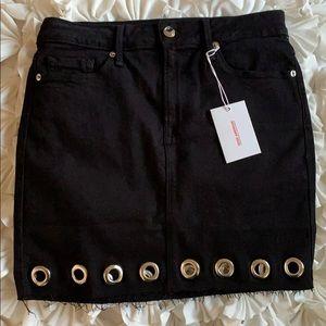 Good American Black Skirt